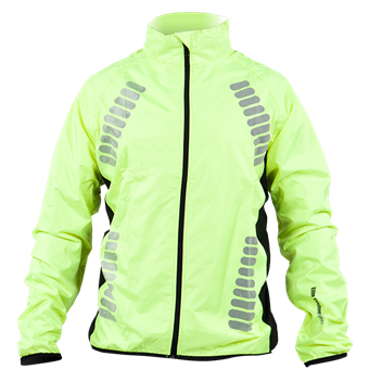 High-Viz Waterproof Cycling Jacket